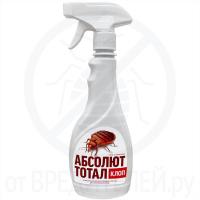 Инсектицид АБСОЛЮТ ТОТАЛ от клопов флакон с распылителем 400 мл