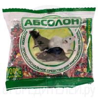 Средство от грызунов АБСОЛОН зерно пакет 100 г
