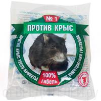 Средство ПРОТИВ КРЫС тесто-брикеты пакет 200 г
