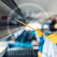 Дезинфекция автобуса в Екатеринбурге